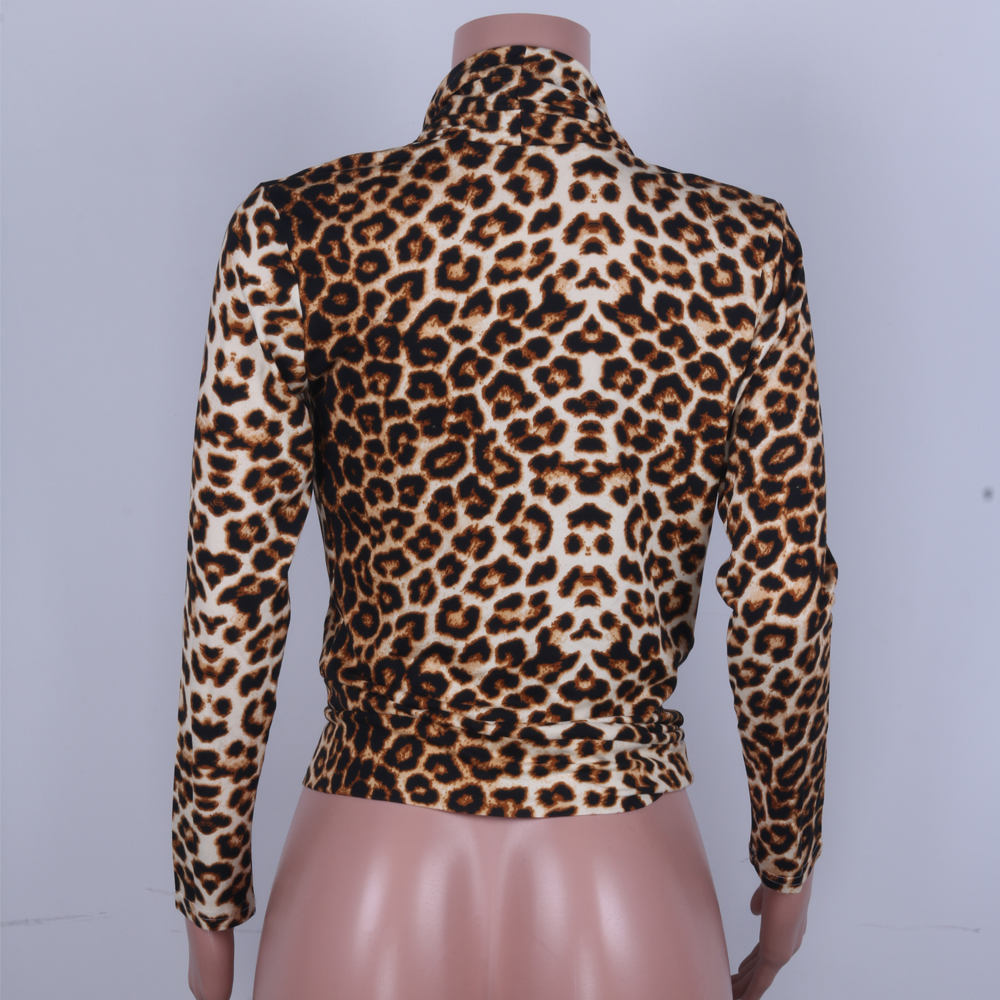 Leopard blouse ladies