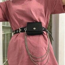 Bag Luxury Designer Purses Fanny-Pack Waist-Bag MINI Fashion Women Solid for Flap Euro-America-Style