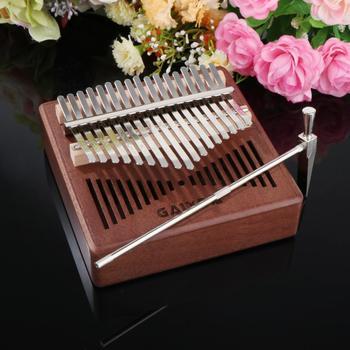 Professional Kalimba 17 Key Thumb Piano Mahogany w/ Bag Tuner Hammer Beginner Learner Musical Gift w j henderson modern musical drift