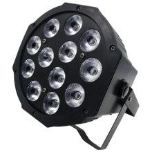 12x12 rgbw led par efeito de iluminação palco profissional dj dmx 100 club iluminação de salão