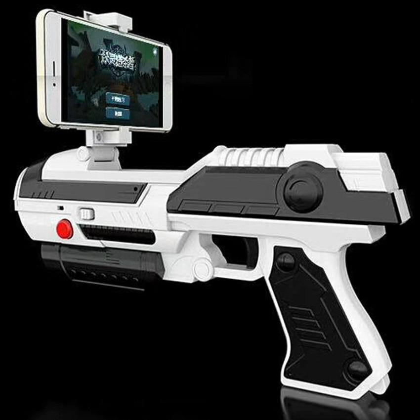 Smart Creative AR Game Gun Toy Fun Bluetooth Control Game Sport Airsoft Air Guns Multiplayer Interactive Virtual Reality Shoot 5