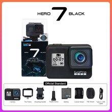 GoPro-Cámara de acción HERO 7, cámara deportiva resistente al agua para actividades al aire libre, fotos, estabilizador de transmisión en vivo, batería gratis