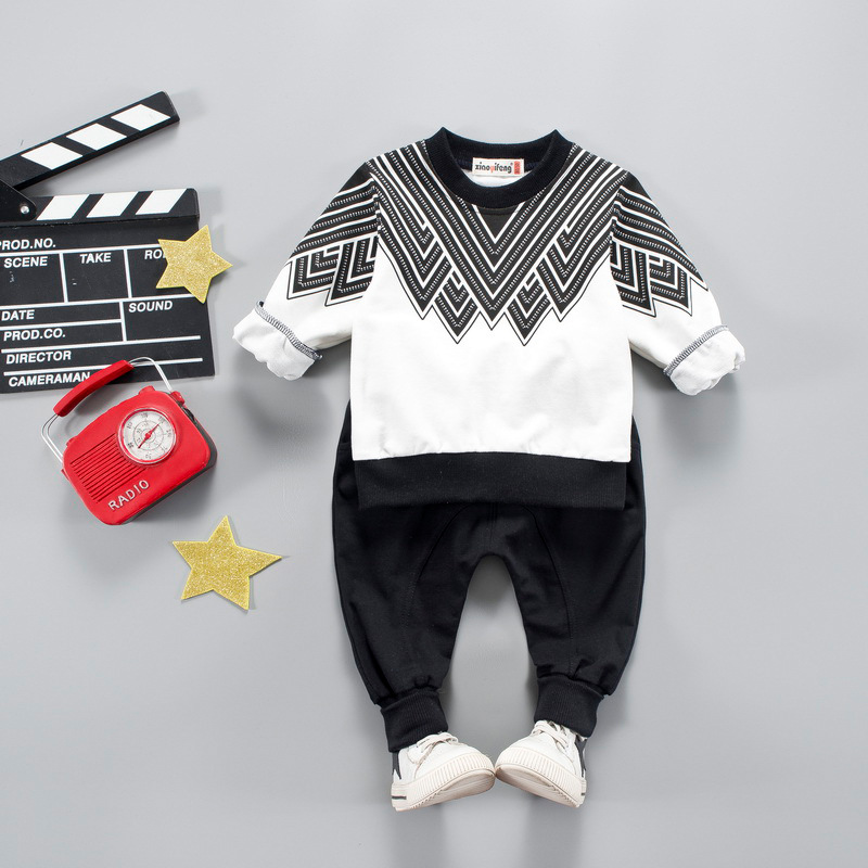 Kids Boys Sport Outfits Suit Baby Boy Casual Clothing Sets For Toddler Tracksuit