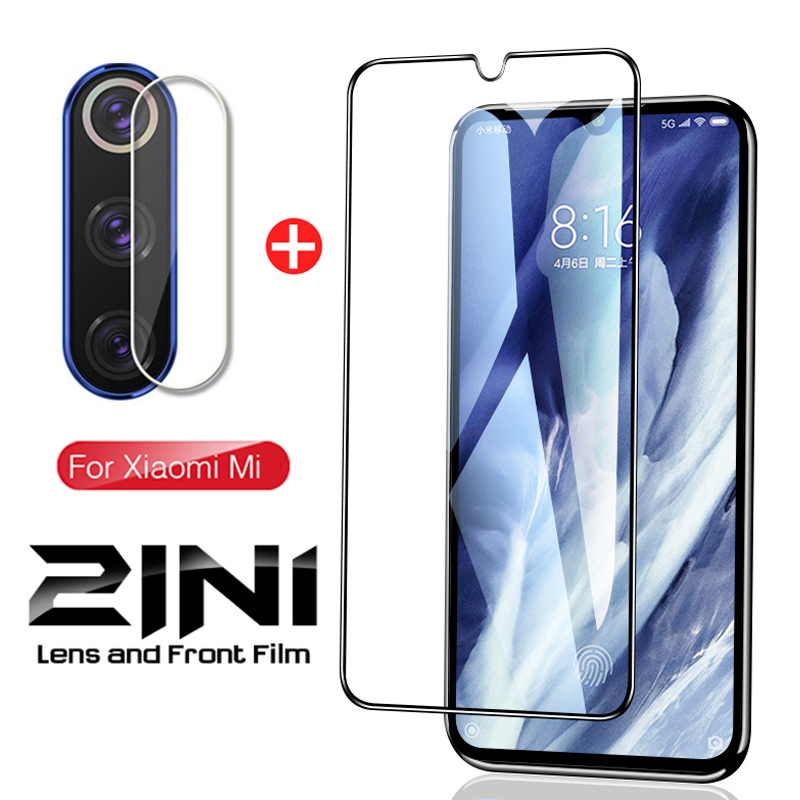 2-in-1 <font><b>Mi</b></font> 9Lite Camera Lens Tempered <font><b>Glass</b></font> on the For <font><b>Xiaomi</b></font> <font><b>Mi</b></font> <font><b>9</b></font> Mi9 Lite 9SE Light SE <font><b>Screen</b></font> <font><b>Protector</b></font> <font><b>Glass</b></font> Protective Film image