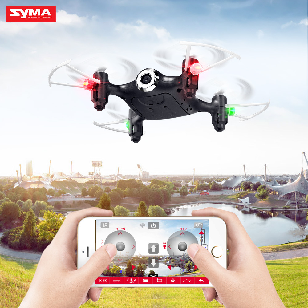 Sima Model Airplane X21w Remote Control Mini Aerial Flight Quadcopter Unmanned Aerial Vehicle SYMA Set High Toy