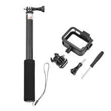 Защитный чехол+ палка для селфи для GoPro Hero 8, чехол для экшн-камеры, крепление для Gopro Hero 8, аксессуары