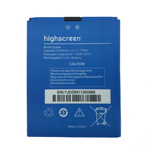 2pcs NEW Original 2100mAh Spade  battery for highscreen High Quality Battery+Tracking Number