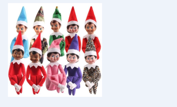 10 Colors Boys Girls Dolls Christmas Elf Colorful Cloth Dolls Gifts for Kids Decorative Figurines Kids Pretend Toys