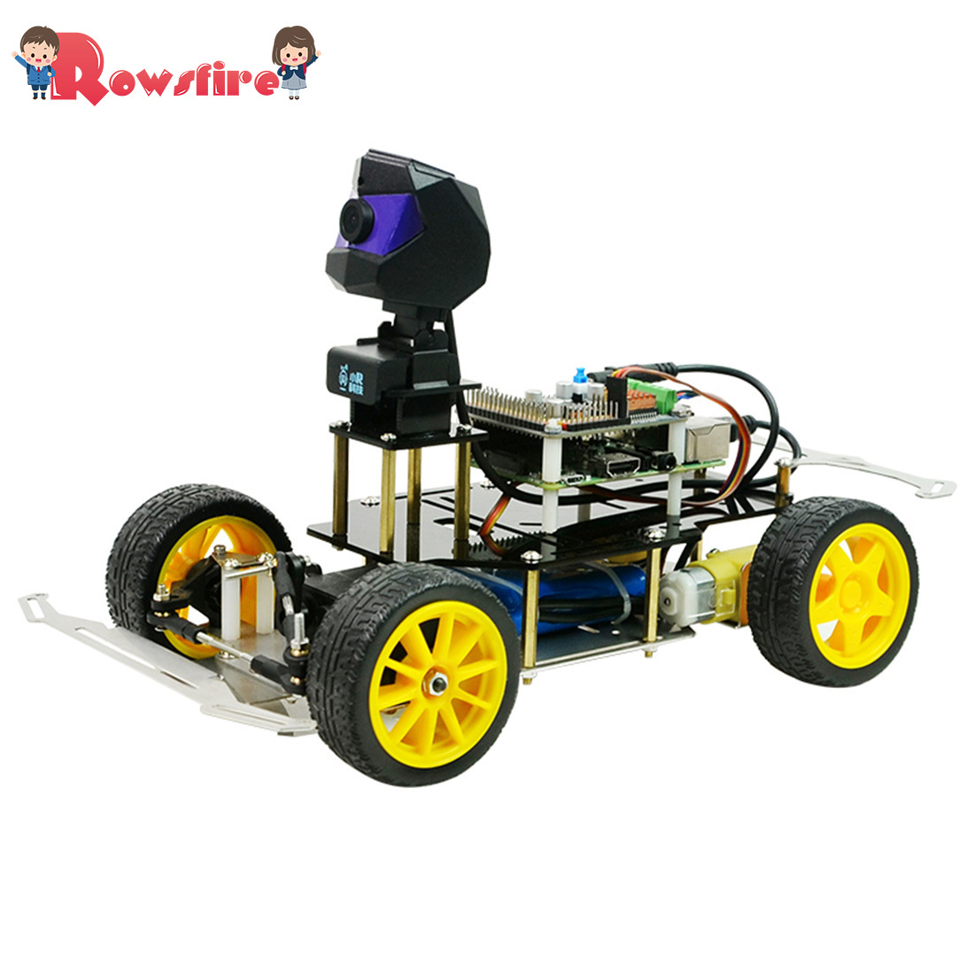 Donkey Car Smart AI Line Follower Robot Opensource DIY Self Driving Platform For Raspberry Pi RC Car