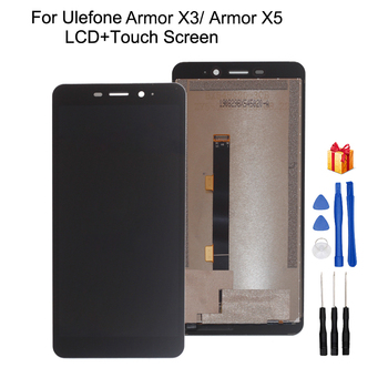 Original For Ulefone Armor X3 LCD Display Touch Screen Assembly Repair Parts For Ulefone Armor X5 Screen LCD Display for myphone hammer energy lcd display touch screen original lcd glass digitizer assembly repair parts