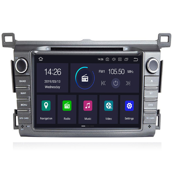 Autoradio 2 din Android 9.0 Car DVD Player For Toyota RAV4 Rav 4 2013 2014 - 2019GPS Navigation Multimedia Head Unit Stereo Wifi