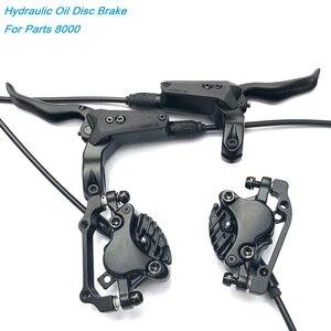 """Image 1 - MTB DH AM FR Bicicletta Freno A Disco Idraulico Anteriore e Posteriore 800/1550mm Mountain Bike Disco Pressione Olio freno 26 27.5 29 """"XT S M8000"""