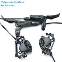 MTB DH AM FR Bicycle Hydraulic Disc Brake Front&Rear 800/1550mm Mountain Bike Oil Pressure Disc Brake 26 27.5 29