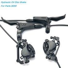 Гидравлический дисковый тормоз MTB DH AM FR для велосипеда, передние и задние дисковые тормоза 800/1550 мм, Маунтин Байк, масляный дисковый тормоз 26, 27,5, 29 дюймовые тормоза, M8000