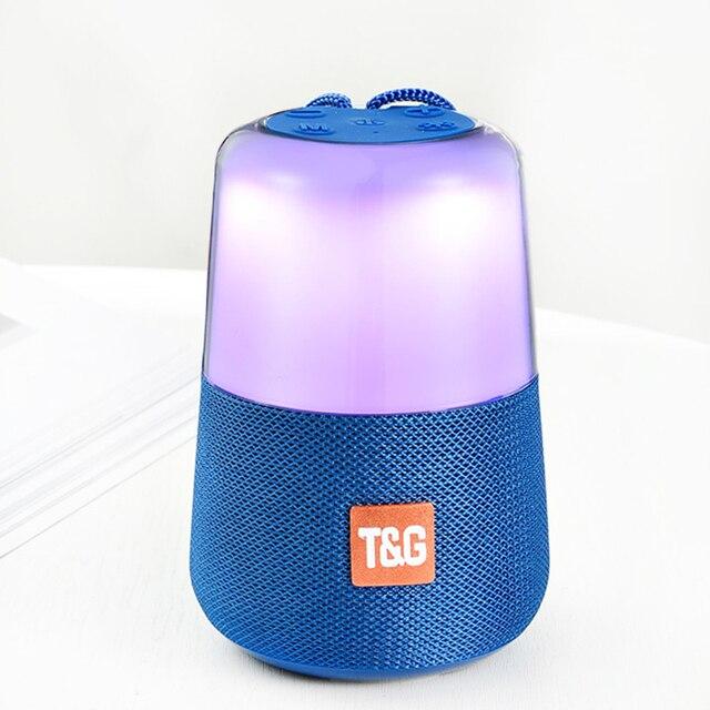 Smart LED Flash Light Bluetooth Speaker Draagbare Mini Outdoor Subwoofer 1200 MAh Muziekdoos FM Radio Nachtlampje Helpen Baby slaap