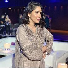 Платья знаменитостей Дубая красная ковровая дорожка блестящее