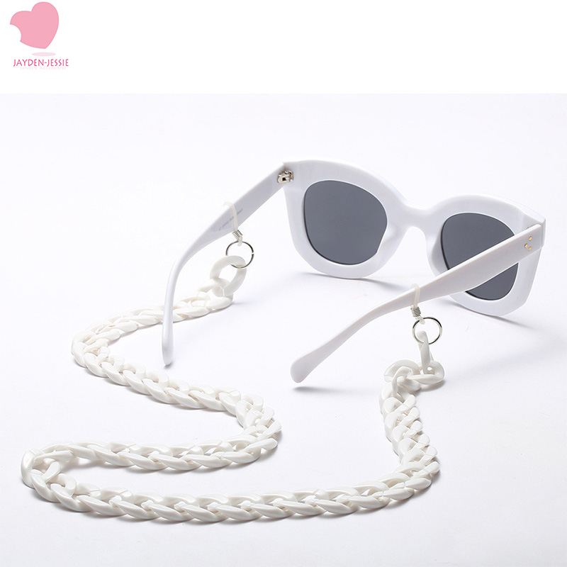 New Fashion Retro String Fashion Glasses Chain Personality Glasses Chain Black & White Trend Party Decoration Chain