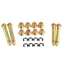Door Hinge Pins Pin Bushing Kit for Honda Civic Accord CR-V CRX (4 pins 2 Door)