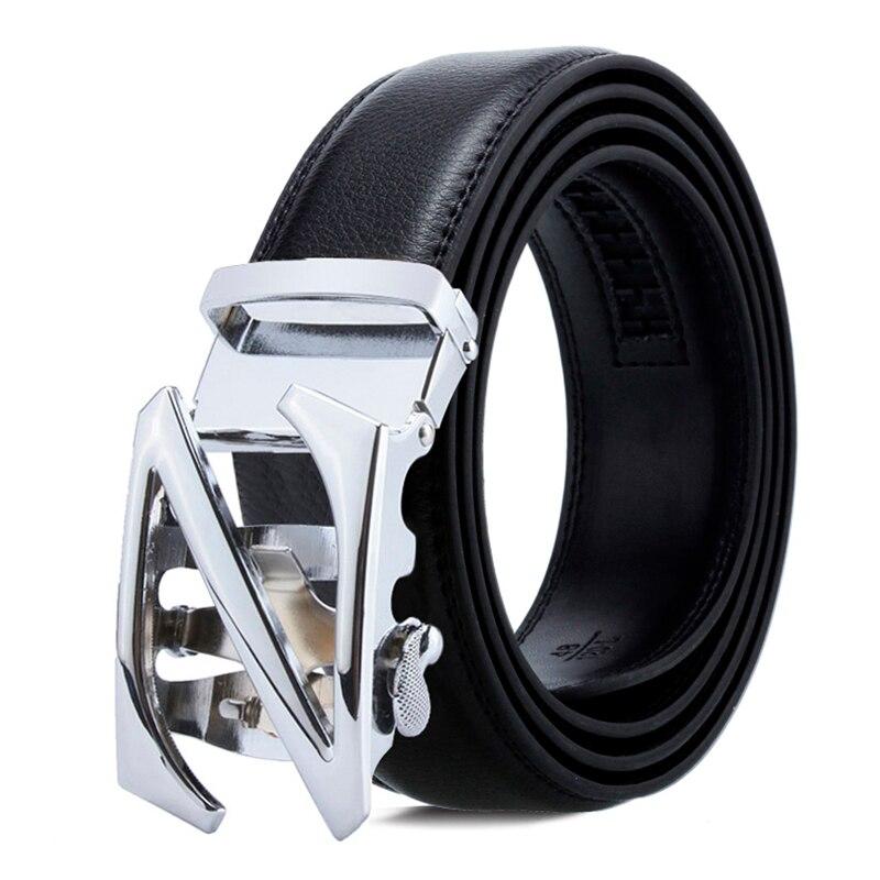 Belt Casual Business Leather S Letter Belt Men