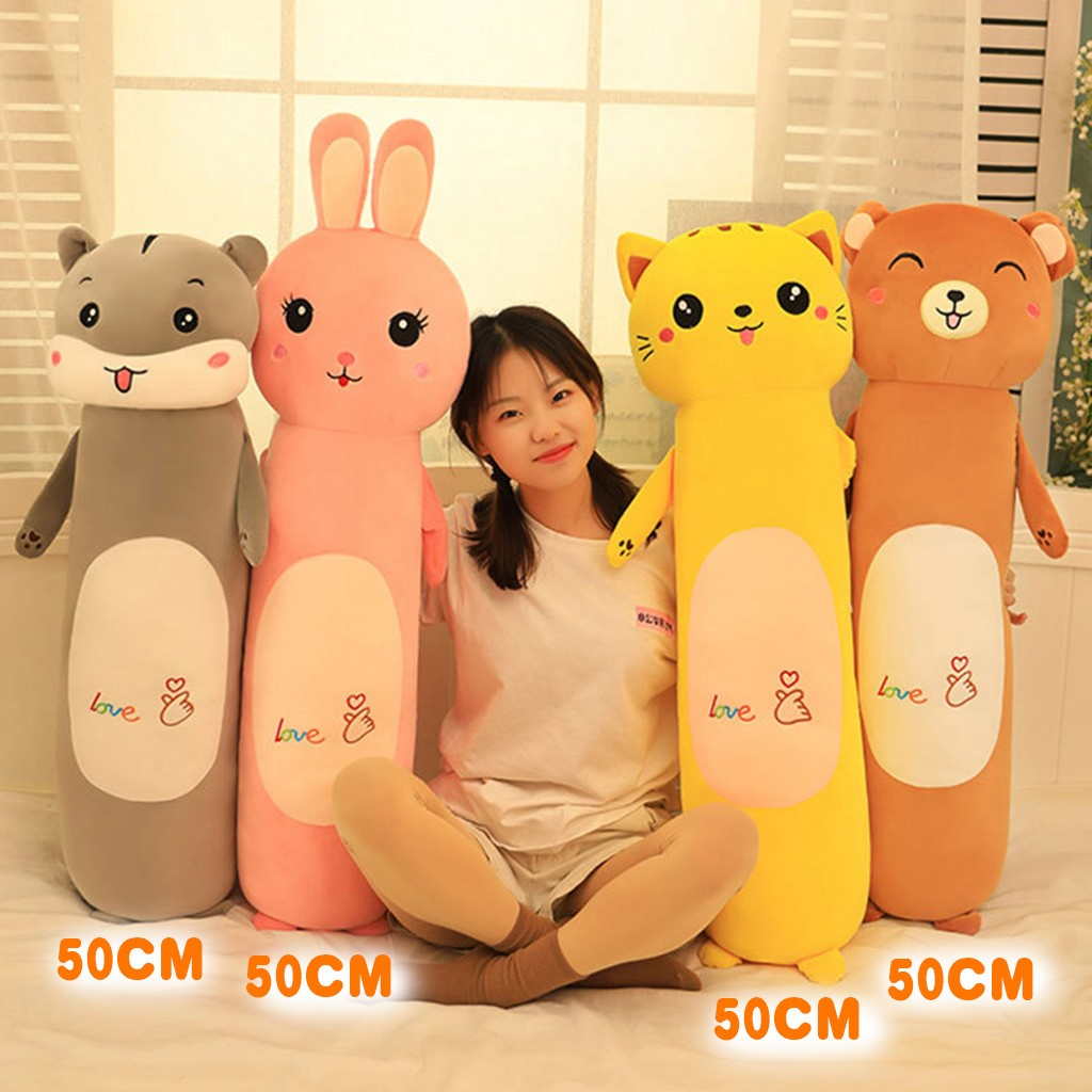 50CM Long Cotton Cute Doll Plush Toy Soft Plush Sleeping Pillow Comfortable Figurine New Kids Toys Brinquedos Juguetes игрушки