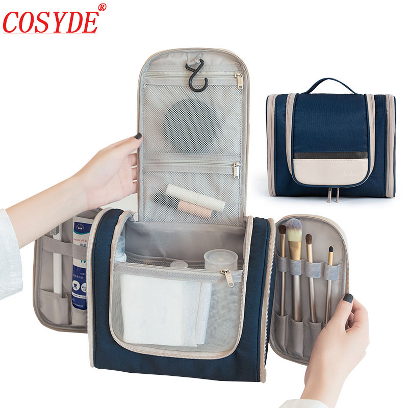 2020 Waterproof Makeup Bag Travel Hanging Cosmetics Bag For Men Wash Toiletries Travel Organizer Bag Ladies Beauty Make Up Bag