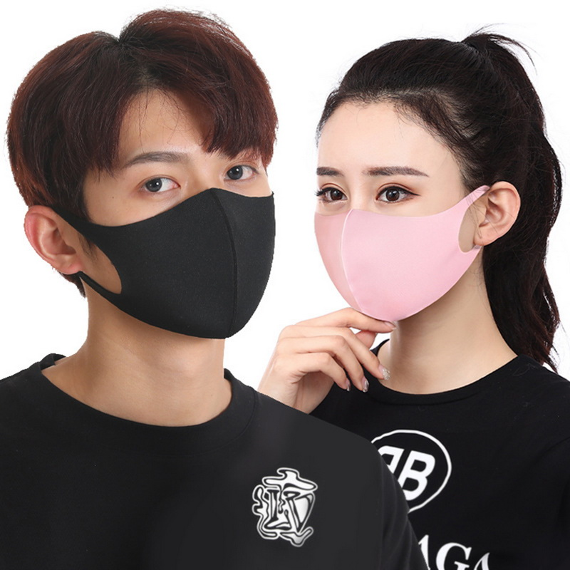 Non Woven  Mouth Mask Anti Dust Mask Activated Carbon Windproof Mouth-muffle Bacteria Proof Flu Face Masks