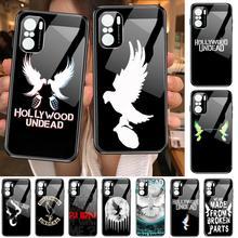 hollywood undead Hard Phone Case For POCO F1 F2 F3 Pro X3 M3 9C 10T Lite NFC Anime Black Cover Silicone Back Prett mi 10 ultra c