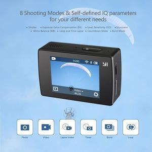 Image 5 - YI Discovery caméra daction 4K 20fps sport Cam 8MP 16MP avec 2.0 écran tactile intégré Wi Fi 150 degrés Ultra grand Angle