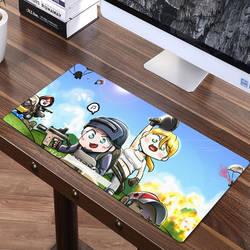FFFAS, 70x30 см, игровой коврик для мыши PUBG, коврик для курицы, ужин, игровой коврик, длинный, размер XXL, коврик для мыши для клавиатуры