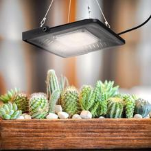 AC 110V-220V 50W LED Plants Growing Light Full Spectrum COB Spotlight Lamp Dimmable For Greenhouse Garden Plant Growth led cob 50w 220v waterproof driver free ic driver full spectrum to promote plant growth lamp with u slot type reflective groove