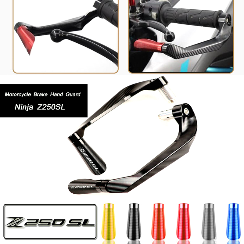 Lever-Protector Z250SL Hand-Guard-System Motorcycle-Brake-Clutch Ninja Kawasaki