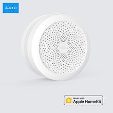 Aqara M1S Hub ağ geçidi RGB gece lambası çalışma için Apple Homekit Mijia uluslararası baskı Zigbee 3.0 protokolü akıllı ev