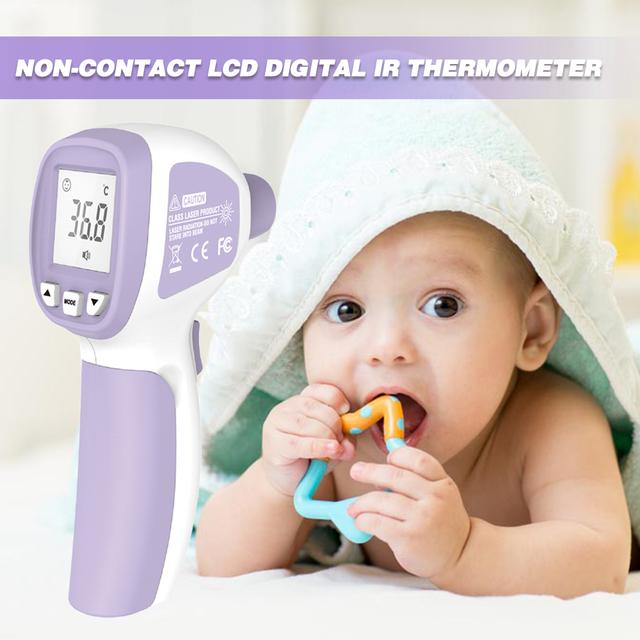 Digital Infrared Thermometer Non-Contact IR Temperature Meter Hygrometer Sensor