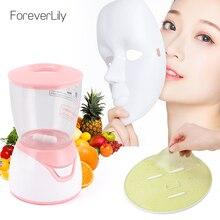 Fruta vegetal máscara facial fabricante rosto máquina de máscara de frutas rosto ferramenta de cuidados com a pele diy automático natural colágeno beleza facial spa