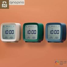 Youpin Qingping Bluetooth Temperature Humidity Sensor Mijia Night Light LCD Alarm Clock Mihome App control Thermometer