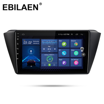 EBILAEN Car Radio Multimedia Player For Skoda Fabia 2015 2016 2017 2018 Android 10.0 Autoradio GPS Navigation Tape Recorder RDS image