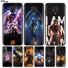 Silicone Cover Iron Man Marvel Avengers For Xiaomi Redmi Note 10 10S 9 9C 9S Pro Max 9T 8T 8 7 6 5 Pro 5A 4X 4 Phone Case