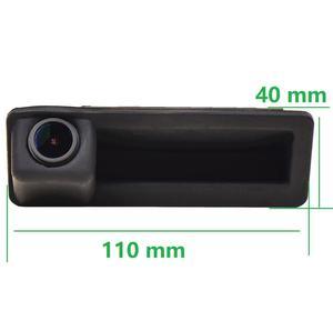 Image 5 - 1280x720p alça Tronco Rear View camera Reversa Backup para BMW X5 X1 X6 E39 E53 E82 E88 E84 E90 E91 E92 E93 E60 E61 E70 E71 E72