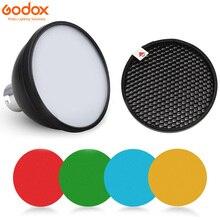 Godox AD S11 لون المواد الهلامية تصفية العسل شبكة + AD S2 العاكس القياسية لينة الناشر ل Witstro AD 360 II AD360II AD180 AD200