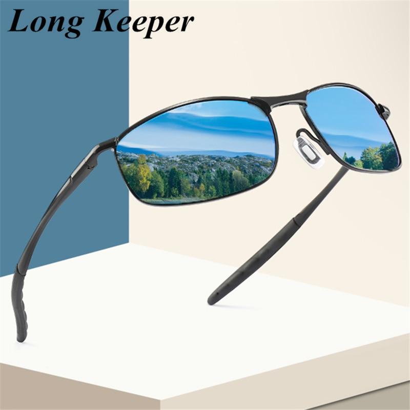 2020 поляризованные солнцезащитные очки, мужские классические солнцезащитные очки дневного и ночного видения, спортивные зеркальные аксесс...
