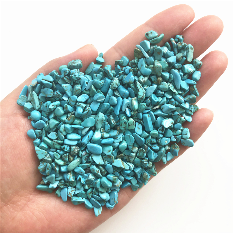 100g Green Turquoise rock polished Rough stone Nugget Healing