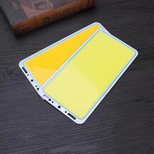 220X120 мм светодиодный панельный светильник 12 в 70 Вт 7000лм светодиодный панельный белый/теплый белый плата COB светильник энергосберегающий светодиодный светильник
