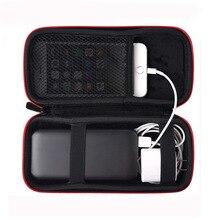 Güç kaynağı çanta taşınabilir EVA seyahat saklama çantası Hard Case için mobil güç paketi Anker/Xiaomi/Huawei güç banka çantası kılıf kapak