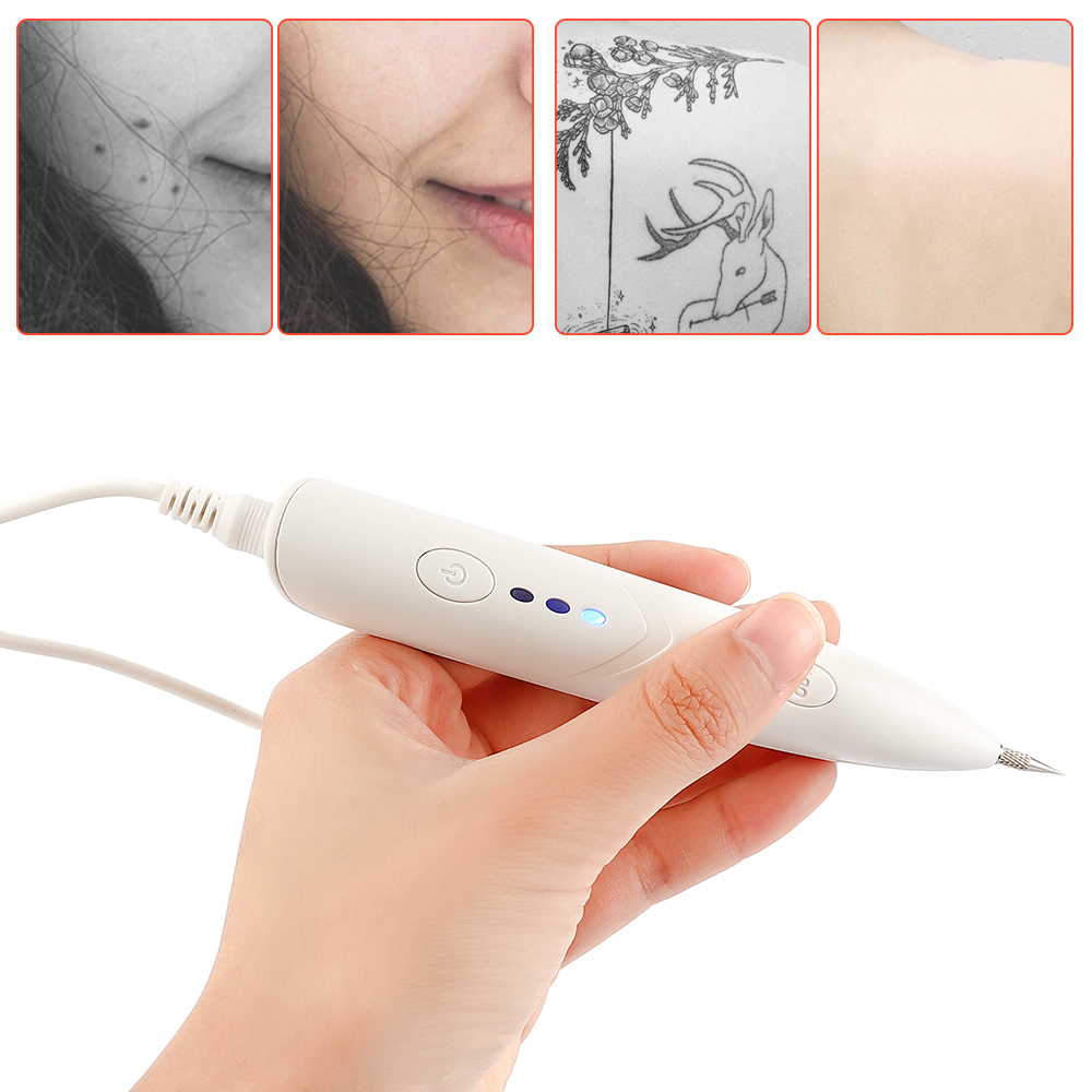 USB Mini Laser Pen Mole Freckle Removal Dark Spot Tattoo Remover Warts Fleshy Nevus Cleaner Plasma Pen Skin Care Beauty Device
