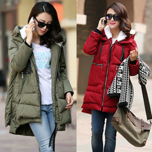 Buy Pregnant Women Pregnancy  Clothes Outerwear  Plus Size S-5XL Maternity Winter Coat Long Hooded Thicken Down Casual Coat directly from merchant!