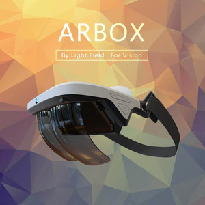 AR Box Holographic Effects Augmented Reality Glasses Smart Helmet 3D Virtual Reality with Control Handle Virtual Reality glasse(China)