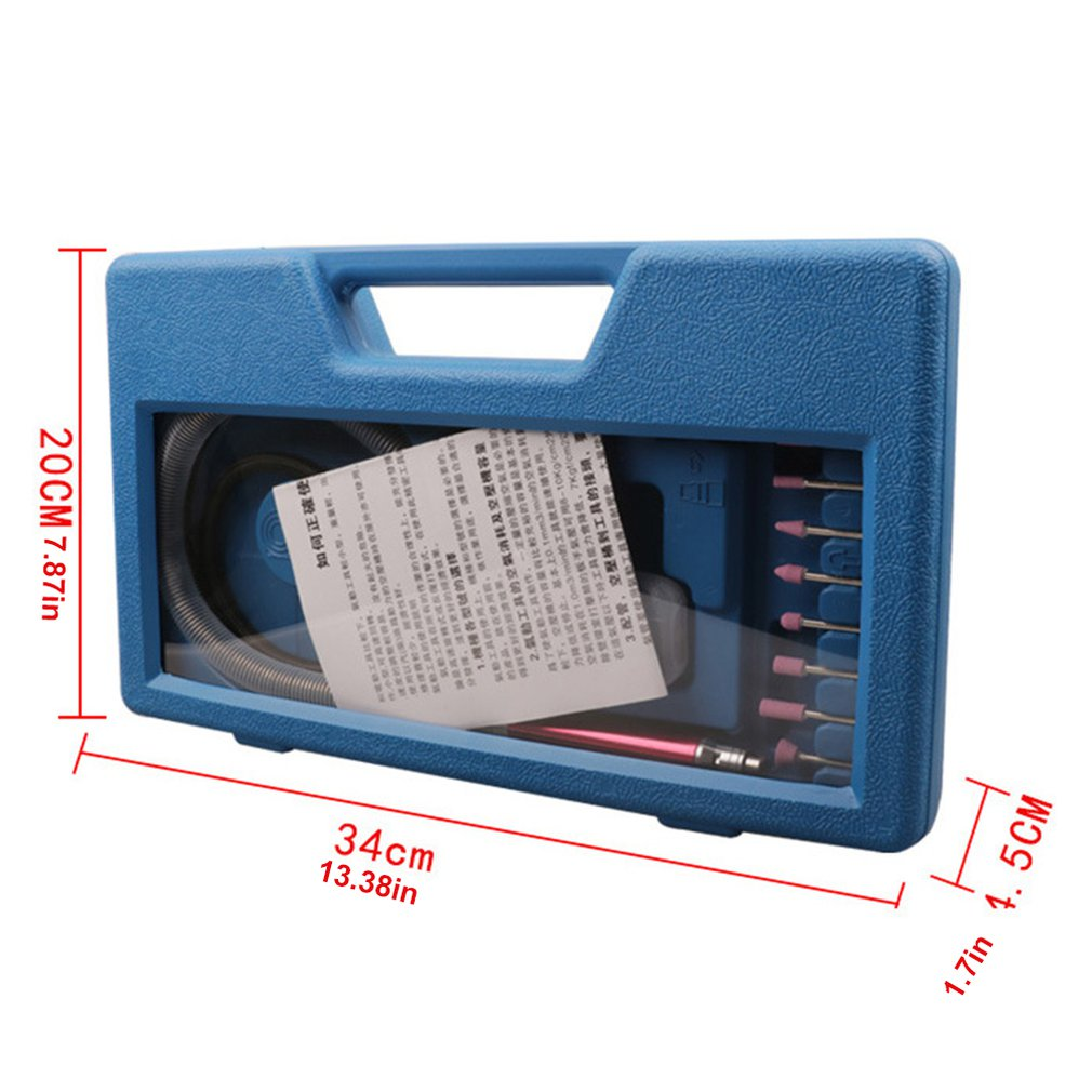 Микро воздушная шлифовальная машина пневматический ветровой фрезерный карандаш шлифовальный гравировальный станок для полировки резьбы фрезерный многофункциональный набор инструментов распродажа