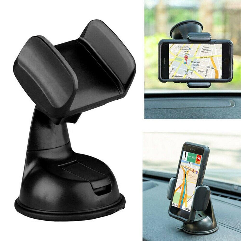 Uniwersalny uchwyt samochodowy na telefon komórkowy 360 stopni obrót Dashboard uchwyt do montażu na przyssawce uchwyt na telefon komórkowy do Iphone uchwyt samochodowy