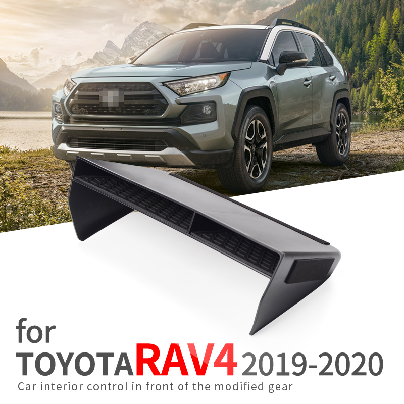 For Toyota RAV4 2019 2020 Center Console Storage Box Armrest Box Organizer Accessories