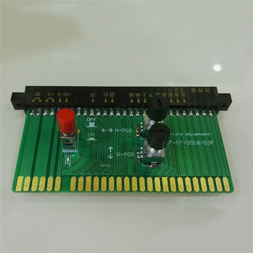 Image Position Adjustment Board Adjustable Converting Board For JAMMA IGS SNK Game Board Accessories